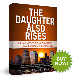 """The Daughter Also Rises"" by Anne Francis, Ph.D."
